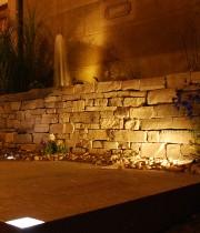 Gartenbeleuchtung Leuchtstein