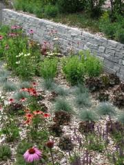 Gartenmauer Granit Hinterrhein I