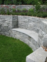 Gartenmauer Granit Hinterrhein II