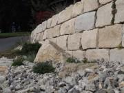 Gartenmauer Mauer Jurakalk Bern