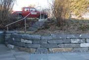 Gartenmauer Mauer Quarzsandstein Tatüren