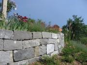Gartenmauer Quarzsansdstein Guber Alpnach