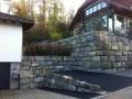 Gartenmauer Mauer Quarzsandstein Tatüren Neuenegg