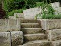 Gartentreppe Treppe Ostermundiger Sandstein