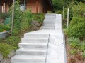 Gartentreppe Treppenanlage Granit Maggia Meikirch
