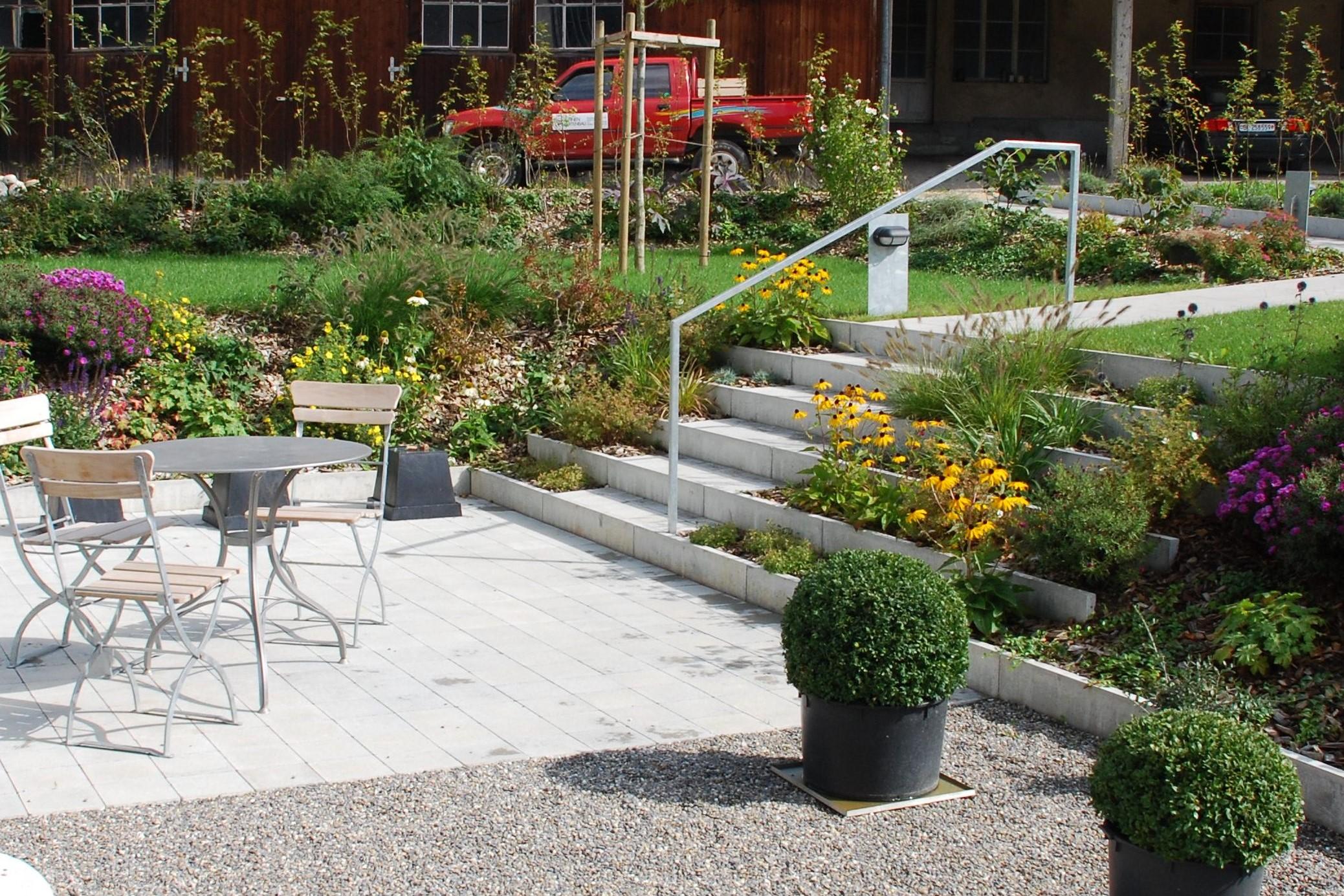 Gartentreppe Treppe Stellplatten Verbundsteine_innerberg