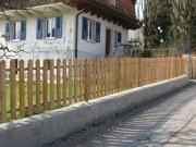 Sichtschutz und Zäune Gartenzaun Akazie