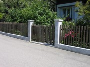 Sichtschutz und Zäune Gartenzaun Staketen