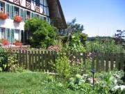 Sichtschutz und Gartenzaun Staketen Typ Langental