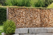Sichtschutz und Gartenzaun Rohstahl