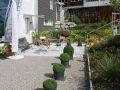 Wege und Plätze Verbundstein Vollkant Gartenkies