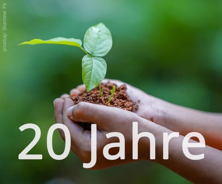 Jubiläum – 20 Jahre Tschannen Gartenbau